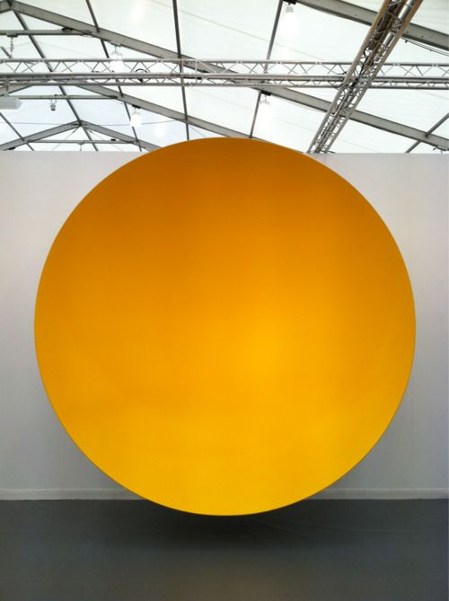 Untitled, Anish Kapoor. 5 Practical ways to work with cycles for creative living by Cherise Lily Nana.